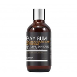 Bay Rum Bald Head Razor Bump Aftershave