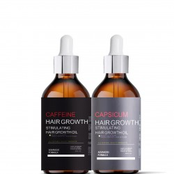 Caffeine & Capsicum Hair Growth Stimulating Oils