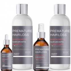 Saw Palmetto Premature Hair Loss System